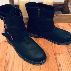 Ladies Harley Davidson Riding Boots Worn Once